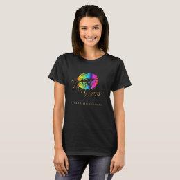 Va Va Voom Rainbow  Lips T-Shirt