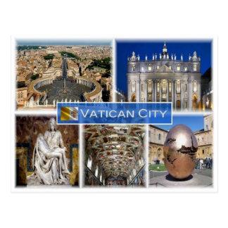 VA Vatican City - Postcard