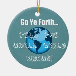 Va YE adelante… Adornos De Navidad