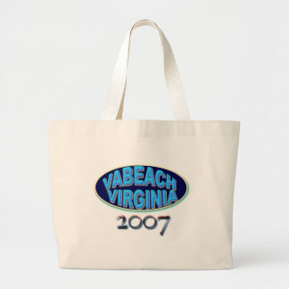 VABCH-2007-BLack Jumbo Tote Bag