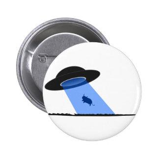 Vaca Abduciton del UFO Pin