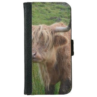 Vaca adorable de la montaña carcasa de iPhone 6