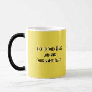 vaca amarilla taza mágica