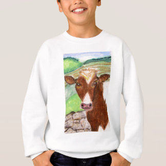 Vaca americana del país remera
