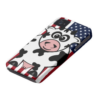 Vaca americana iPhone 4 Case-Mate protector