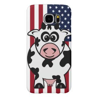 Vaca americana fundas samsung galaxy s6