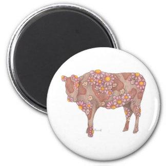 Vaca atractiva imán para frigorifico