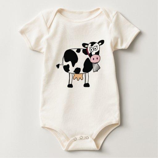 Vaca-Bebé Mamelucos De Bebé