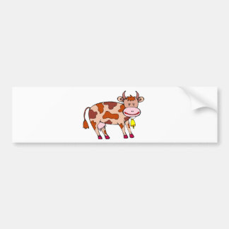 Vaca Bell Pegatina Para Auto