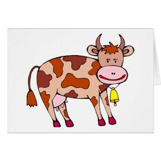 Vaca Bell Tarjetón