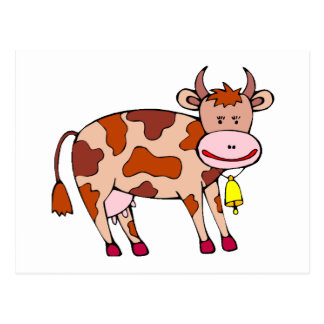 Vaca Bell Tarjetas Postales