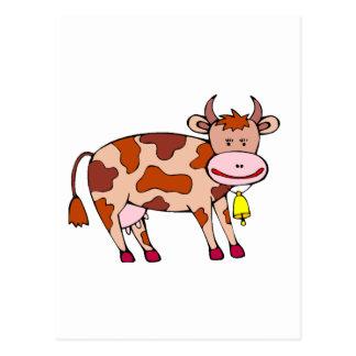 Vaca Bell Tarjeta Postal