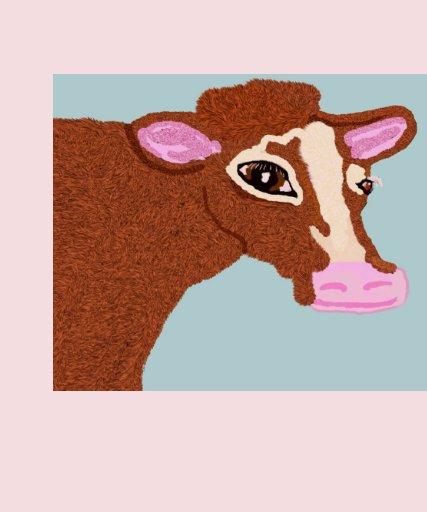 Vaca bonita playera