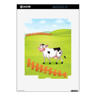 Vaca Calcomanía Para El iPad 2