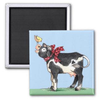 Vaca con el arco - imán