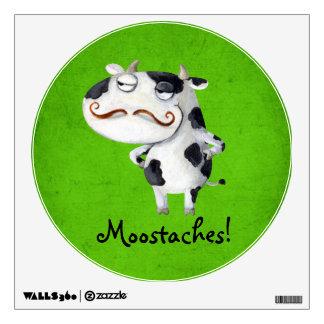 Vaca con los bigotes vinilo