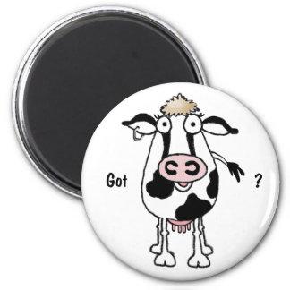 Vaca. ¿Conseguido? Imanes