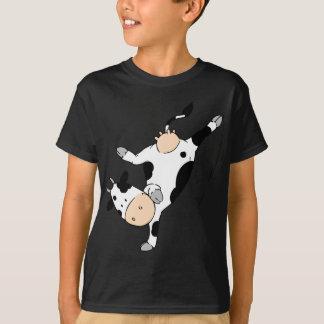 Vaca de Breakdancing (mooviestars) Playera