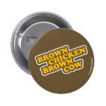 Vaca de Brown del pollo de Brown Pins