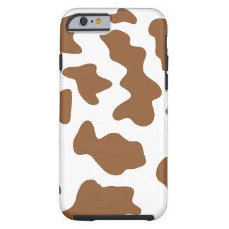Vaca de Brown Funda De iPhone 6 Tough