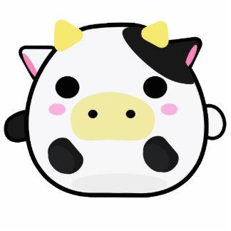 Vaca de Chibi Fotoescultura Vertical