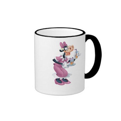 Vaca de Clarabelle Taza De Café