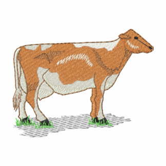 Vaca de Guernesey Sudadera Con Capucha