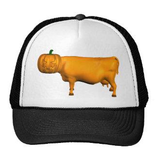 Vaca de Halloween Gorro