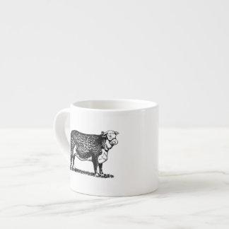 Vaca de Hereford Taza Espresso