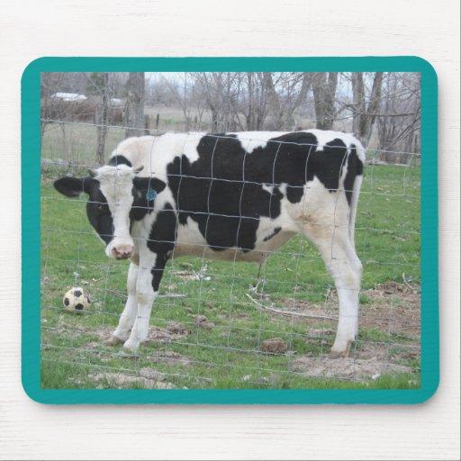 Vaca de Holstein Alfombrillas De Ratón