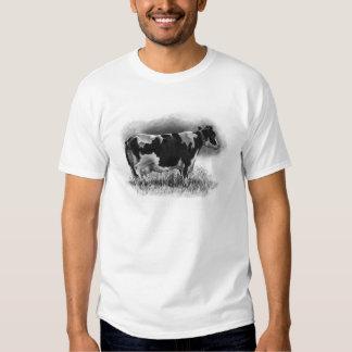 Vaca de Holstein: Dibujo de lápiz: Productor de la Polera