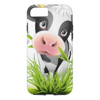Vaca de Holstein en hierba Funda iPhone 7