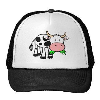 Vaca de Holstein Gorro