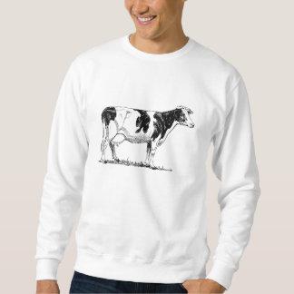 Vaca de Holstein Pulovers Sudaderas