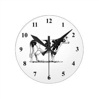 Vaca de Holstein Reloj
