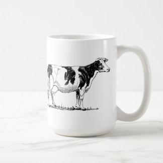 Vaca de Holstein Taza De Café