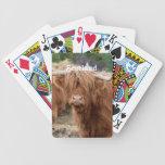 Vaca de la montaña baraja cartas de poker