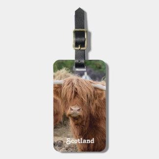 Vaca de la montaña etiquetas bolsas