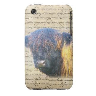 Vaca de la montaña funda bareyly there para iPhone 3 de Case-Mate