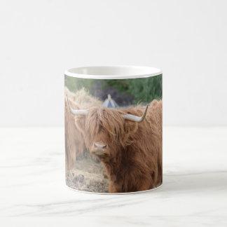 Vaca de la montaña taza de café