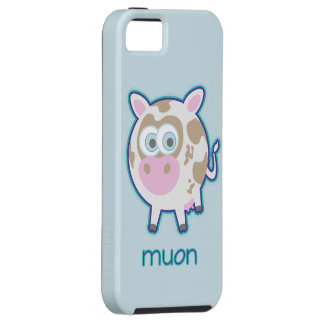 Vaca de la partícula de Muon iPhone 5 Carcasa