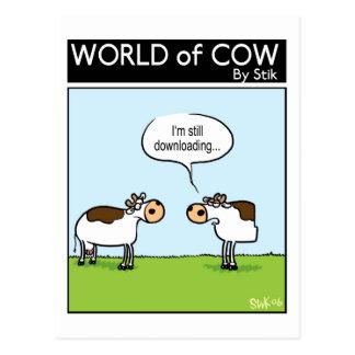 Vaca de la transferencia postal
