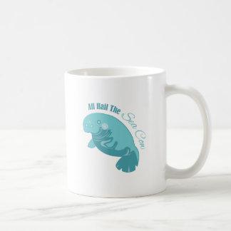 Vaca de mar taza clásica