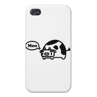 Vaca de Mooing iPhone 4/4S Fundas