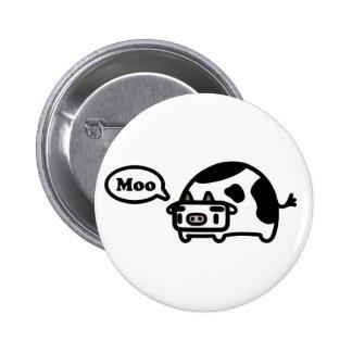 Vaca de Mooing Pins