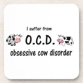 Vaca de OCD Posavasos De Bebidas