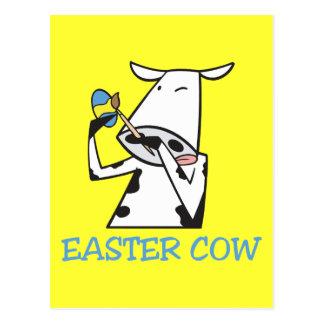 Vaca de Pascua Postal