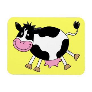 vaca del baile imanes flexibles
