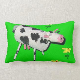 Vaca del corcho cojín