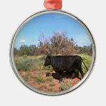 Vaca del desierto ornamento para reyes magos